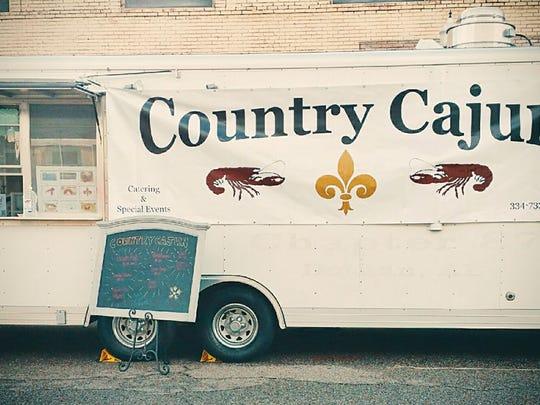 Country Cajun food truck.