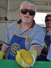 Essex Rotarian Pat Scheidel of Williston (and Essex