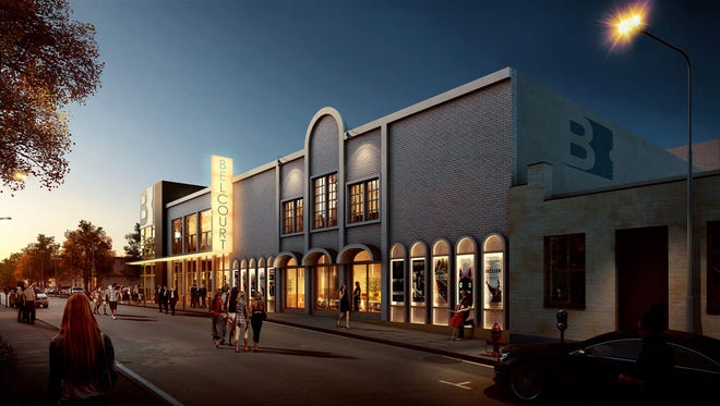 The Belcourt Theatre will close Dec. 25 and reopen in June after a $4.5 million renovation.