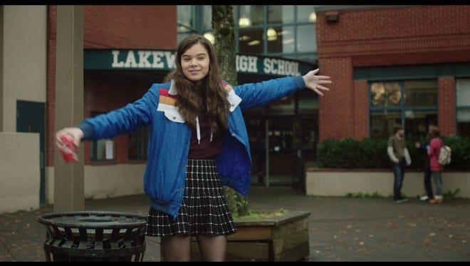 "Hailee Steinfeld stars in ""Edge of Seventeen."""