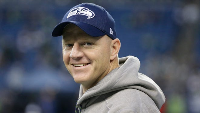 FILE  -- Former Seattle Seahawks offensive coordinator Darrell Bevell is considered a potential Indianapolis Colts offensive coordinator.