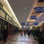 Shoppers at the Mall at Greece Ridge