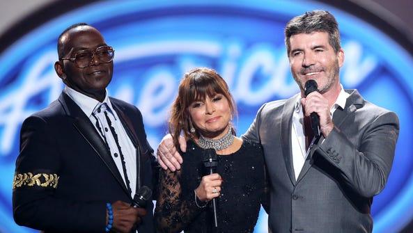 Original 'American Idol' judges Randy Jackson, left,