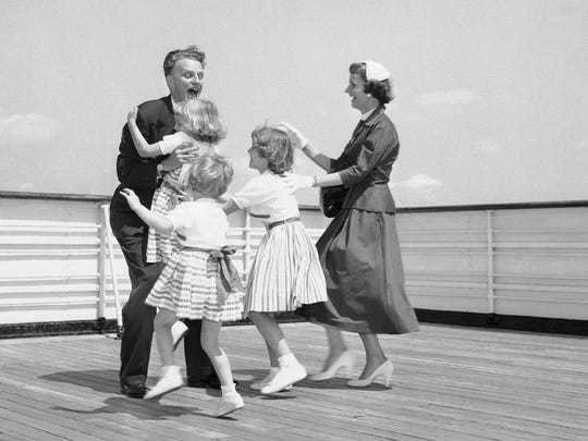 The three young daughters of Billy Graham, North Carolina
