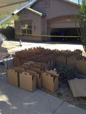 """""""No idea how many cats are in the home at this point but personnel are preparing,"""" - @GilbertPolice"""