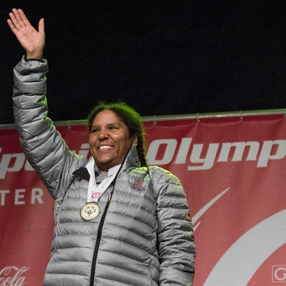 A gold-medal-winning skier lives among us in York