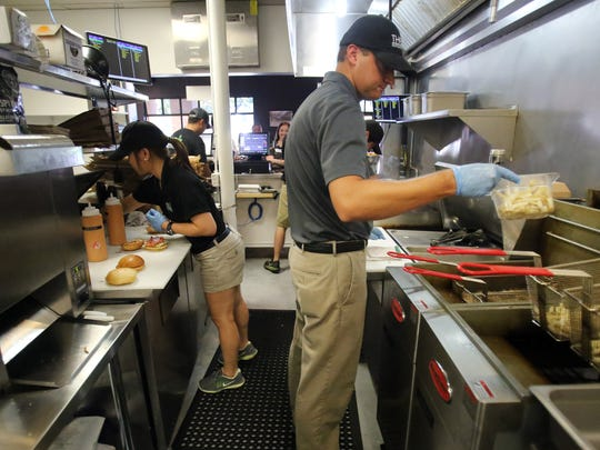 November 3, 2016 - At the Sear Shack burgers are made-to-order from fresh Angus beef and fries are hand-cut daily. A second location has opened at 5101 Sanderlin.