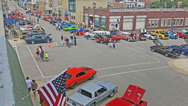 Kewaunee's Veteran Car Show is scheduled for July 9.