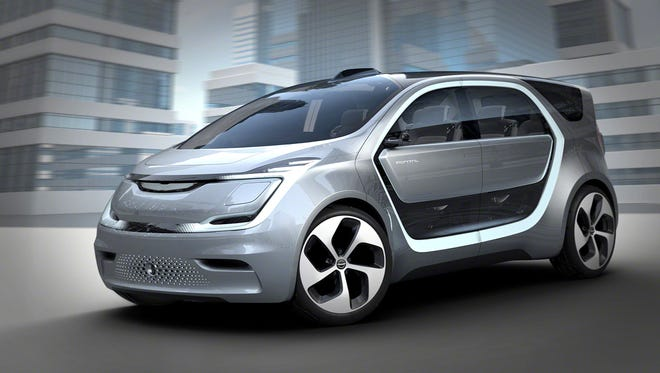 Fiat Chrysler Automobiles will reveal a new electric crossover designed for millennials with families with an estimated range of 250 miles at CES, better known as the Consumer Electronics Show, in Las Vegas on Tuesday, Jan. 3, 2017. It is called for now the Chrysler Portal.