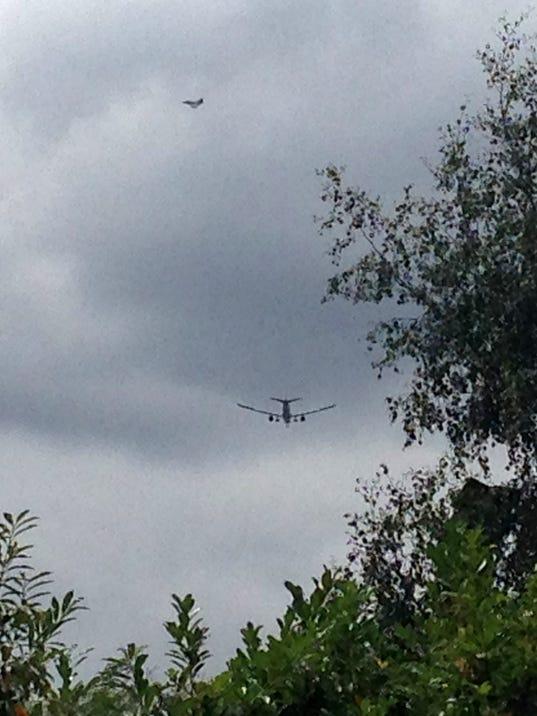 AP Britain Plane Emergency
