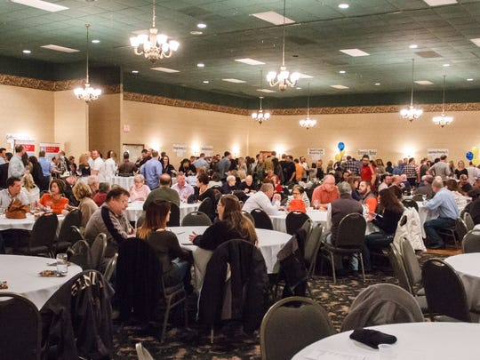 Attendees enjoy the offerings from over 30 different beer, wine, and food vendors during the 10th annual Oconomowoc Rotary Brewfest at Olympia Resort in Oconomowoc on Saturday, Feb. 27, 2016. Anyone who had an event scheduled at Olympia Resort is now scrambling to find an alternate location, including Oconomowoc Brewfest, which is also run by the Rotary Club.