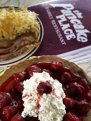 The Pancake Place is a popular spot on Military Avenue, even when the Packers aren't in town.