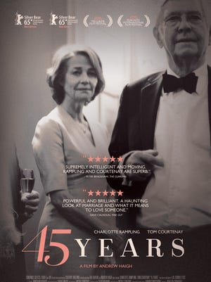 """""""45 Years"""" is now playing in limited release."""