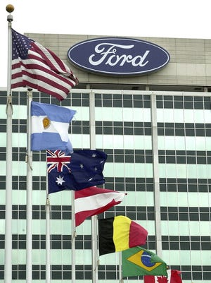Ford's world headquarters is in Dearborn.