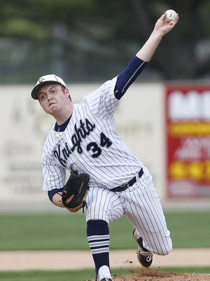 Noah Richardson struck out nine and pitched a three-hitter for Central Catholic.