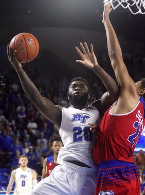 Giddy Potts and the Blue Raiders entered the USA Today Coaches Poll on Monday.