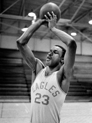 Tyrus Baynham, who played at East (1980-83), was selected as one of the area's greatest high school players of all time.