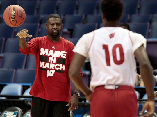 Wisconsin assistant coach Howard Moore is moving to a rehab facility.