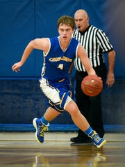 St. Cloud Cathedral's Keaton Le Claire breaks away