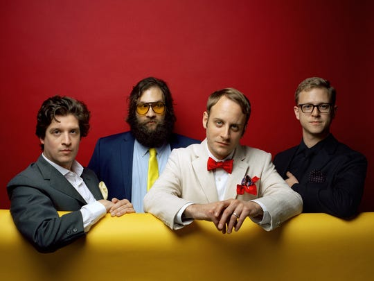 Deer Tick will perform at the 2018 Rhythm N' Blooms Music Festival.