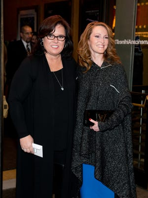 Rosie O'Donnell and Michelle Rounds in happier times - 2014.