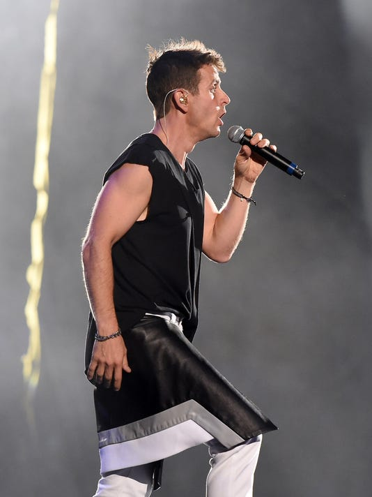 New Kids On The Block, TLC And Nelly Tour Opener At Mandalay Bay In Las Vegas