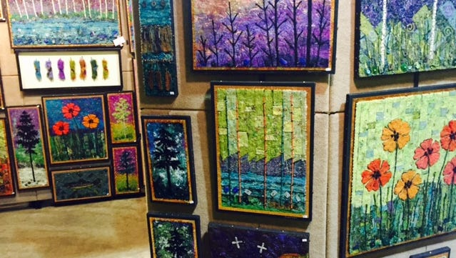 More than 100 Midwest artists will sell their work at this weekend's Arti Gras at Shopko Hall.
