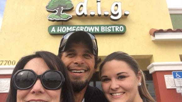 Robin and Matt Kerr and Jackie Roberts are excited to take over D.I.G. Bistro in Suntree.