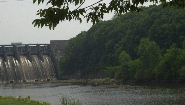 TVA has headwater and tailwater campgrounds at Douglast Dam near Sevierville, Tenn.: