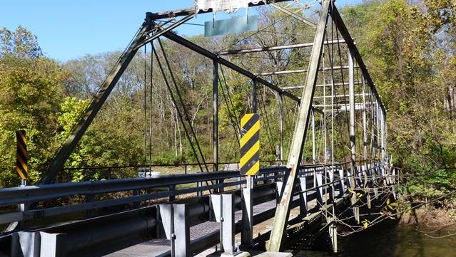 The Green Lane Farms bridge, which spans the Yellow Breeches Creek and connects York and Cumberland Counties, has reopened after four months of rehabilitation, officials announced on Aug. 29, 2017. (Photo courtesy of HistoricBridges.org)