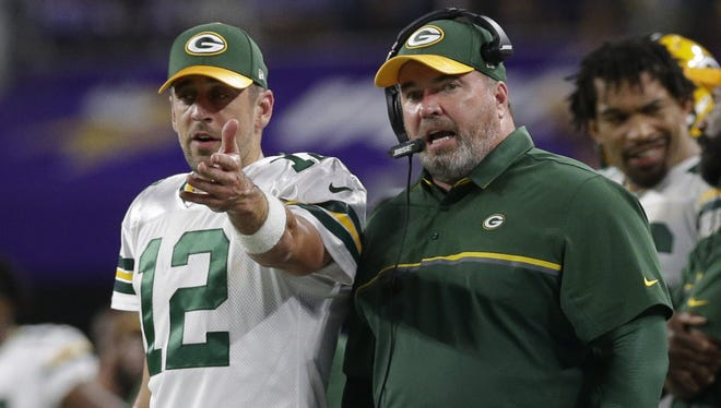 During his weekly chat with reporters, Green Bay Packers quarterback Aaron Rodgers said he walked into the locker room Wednesday knowing what to expect. He scoffed at the idea his fundamentals need work.