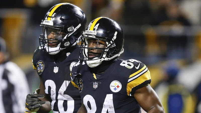 22d80b211e4 Steelers won t tag Le Veon Bell  will explore trade for Antonio Brown