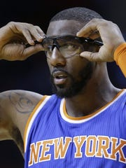 Former New York Knicks center Amar'e Stoudemire.