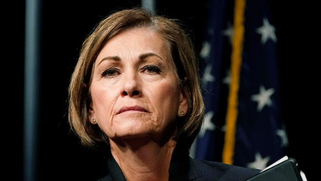 Donations to Iowa Gov. Kim Reynolds' campaign are under scrutiny.