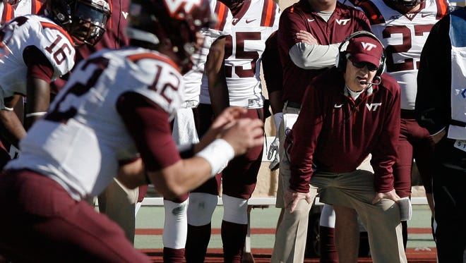 A 29th season for Virginia Tech head coach Frank Beamer, right, was never in question, though, unless he decided he'd had enough, according to Hokies Athletic Director Whit Babcock.