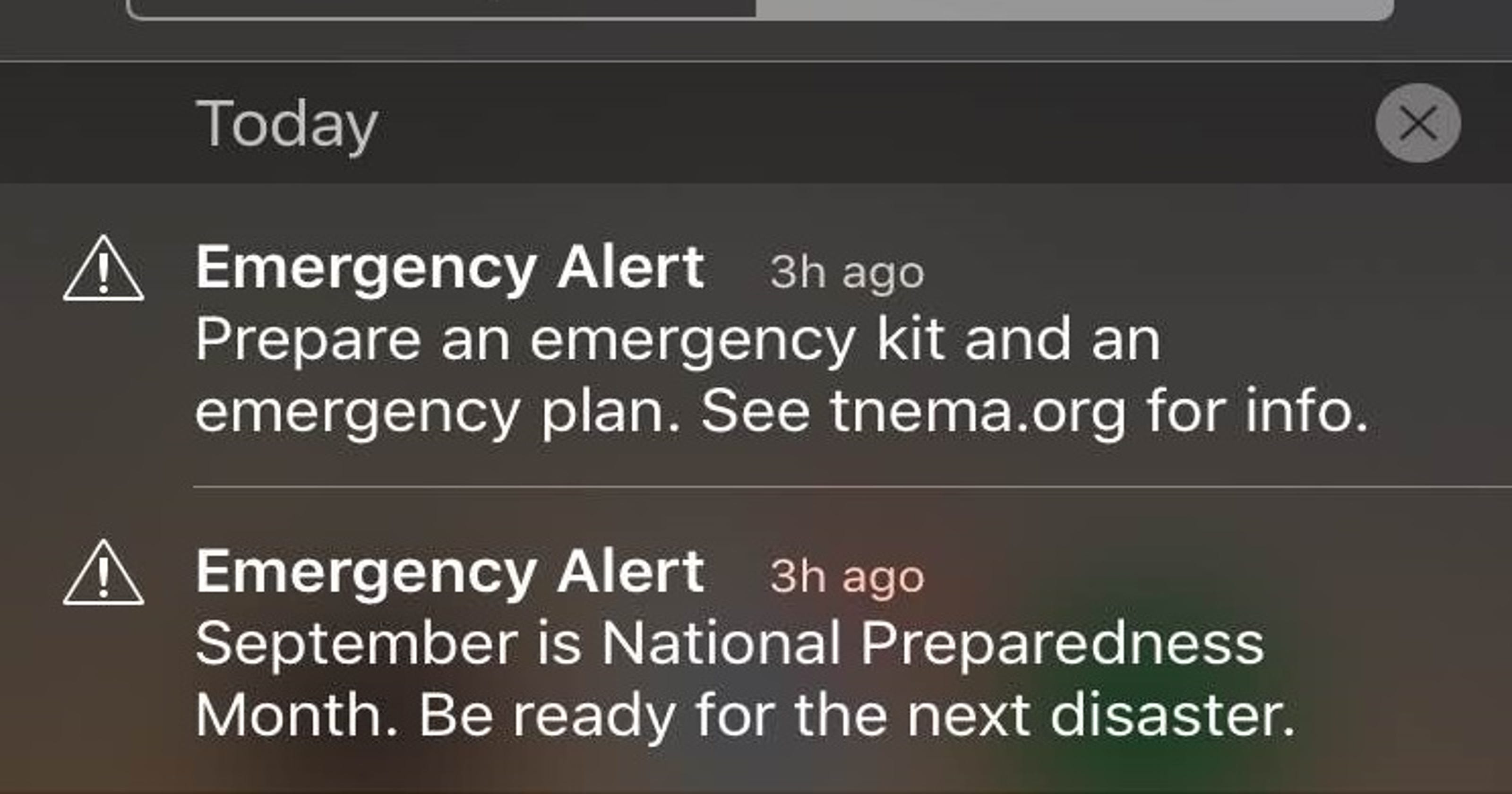TEMA director apologizes for emergency alert problems