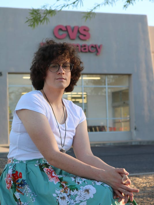 HIlde Hall Arizona transgender woman denied pharmacy prescription