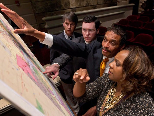 Court faults redistricting plan that 'packed' black voters