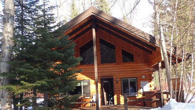 Glacier Wilderness Resort has several cabins to choose from.