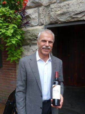Peter Mondavi Jr. visits Nashville representing his Charles Krug Winery.