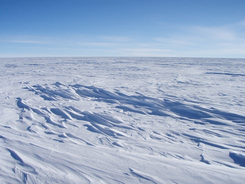 East Antarctica, seen here in 2008, is the coldest spot on Earth: A new look at NASA satellite data revealed that the planet set a new record for coldest temperature.