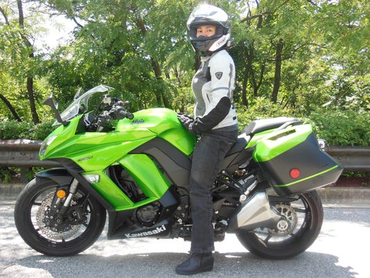 Motorcycle Review Kawasaki Ninja Is A Sporty Tourer