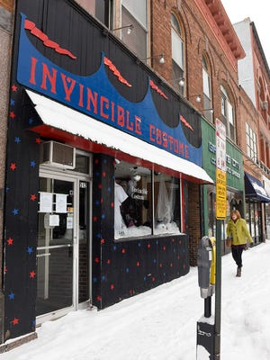 Invincible Costume & Theatrical Company has closed shown Wednesday, Jan. 11, at 512 W St. Germain St. in St. Cloud.