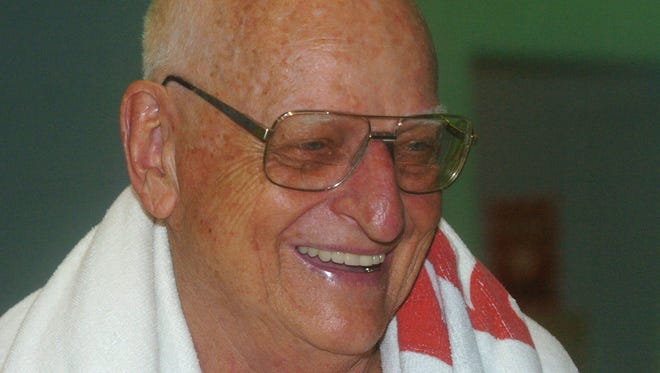 Don Korten, a longtime competitor in the Leroy Sparks Marathon and Goguac Lake Swim, died Monday at the age of 91.