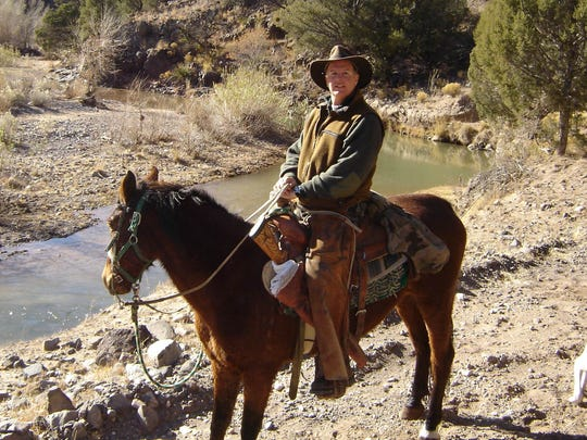 Anthony Mauro of Colts Neck on a hunting trip in New Mexico.