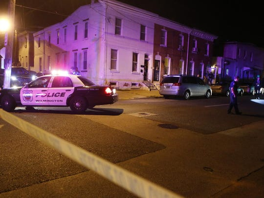 Responding police found a 29-year-old man shot in the leg July 8 in the 100 block of N. Van Buren St. in Wilmington.