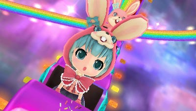 """""""Hatsune Miku: Project Mirai DX"""" will be released on 3DS in 2015."""