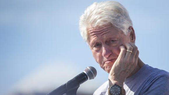 Former President Bill Clinton talks about involvement