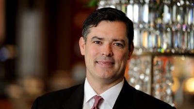 Horseshoe Casino Cincinnat's outgoing general manager Kevin Kline.