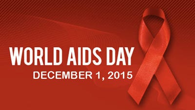 World AIDS Day will take place Tuesday, Dec. 1.